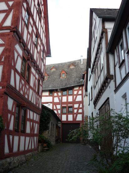 Une des plus vieilles maisons à colombage d'Allemagne