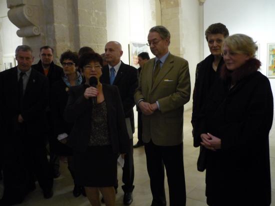 Mchèle, Philippe Marini et Beate Rose