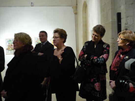 La présidente Frau Michaela Schörcher Partnerschaftsverein Landshut-Compiègne e.V.