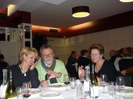 Anne Marie,Robert Gewies et Michaela Schörcher présidente de la Verein Landshut-Compiègne