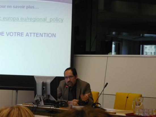 """Patick Bernard Brunet """"La Politique Régionale Européenne"""""""
