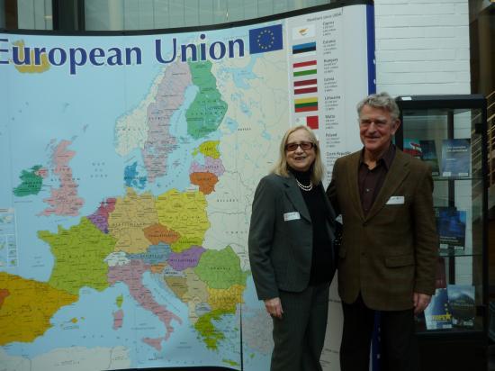 Nicole et Marc au centre de l'Europe