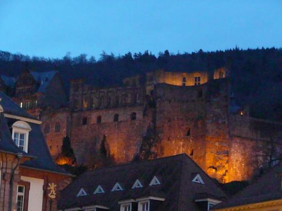 Heidelberg romantique les ruines du chateau