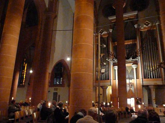Heidelberg concert d'orgues Heiliggeistkirche