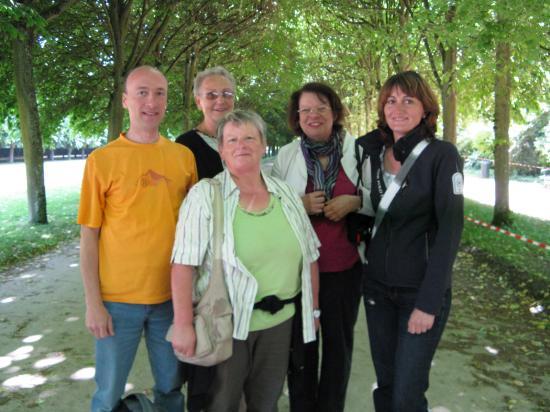 Avec les profs de Landshut dans le Parc
