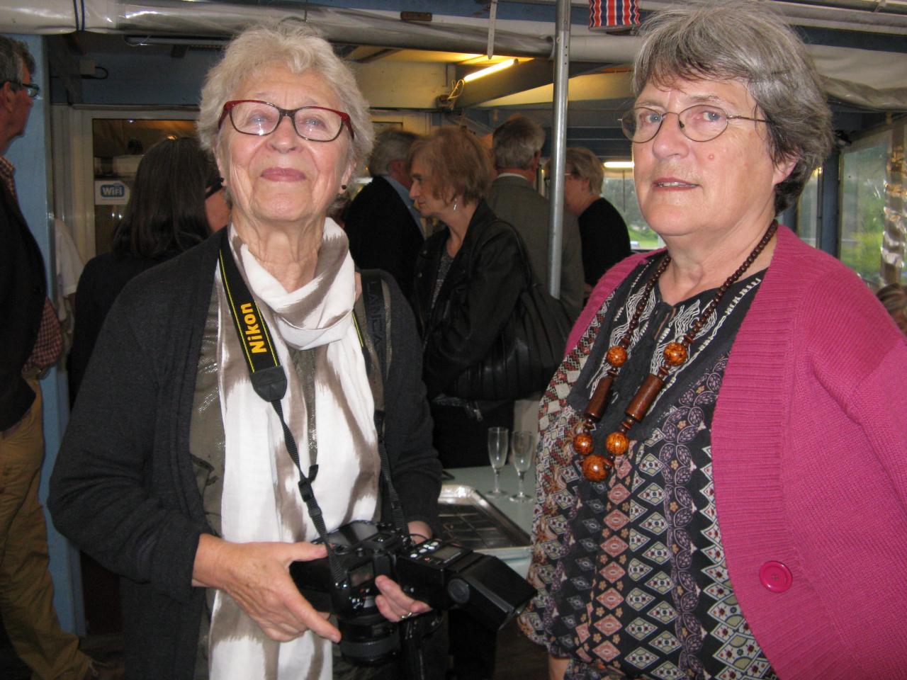 Discussion entre photographes