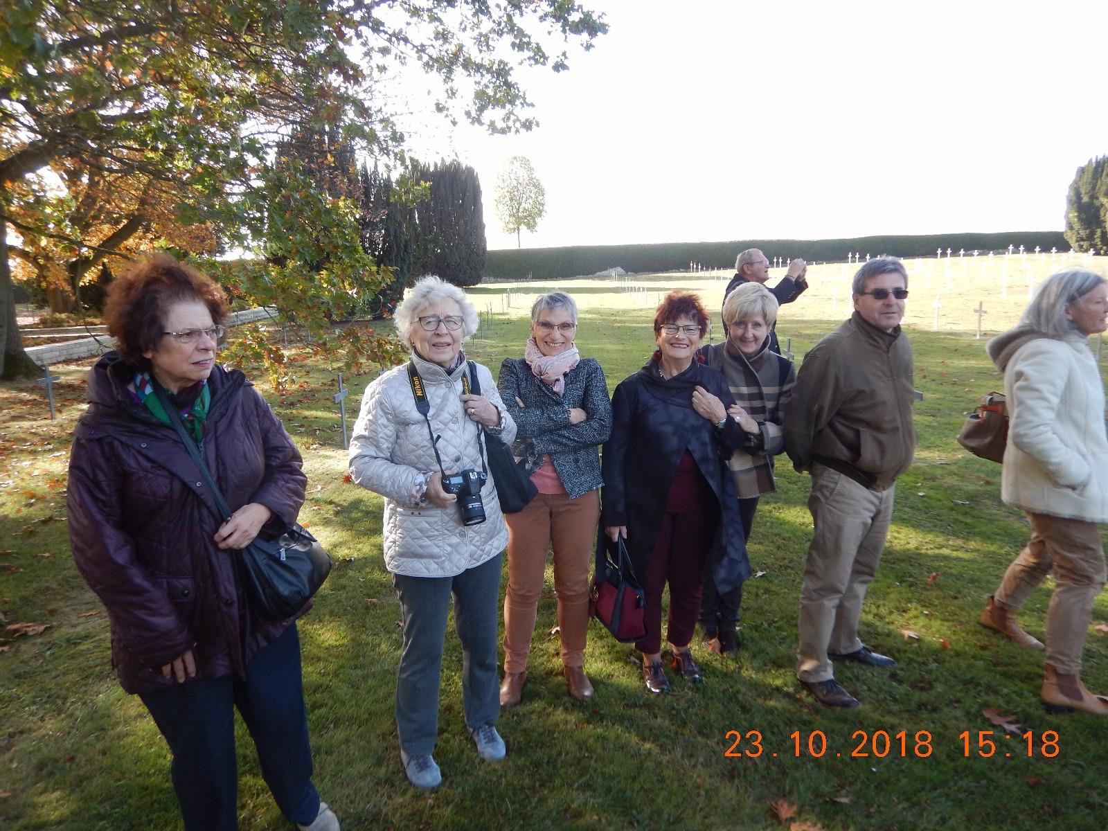 Cérémonie avec le Volksbund de Brême
