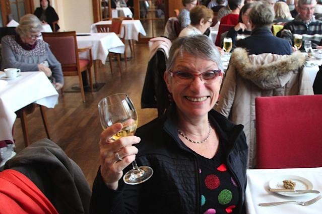 Notre organisatrice du voyage avec Michèle