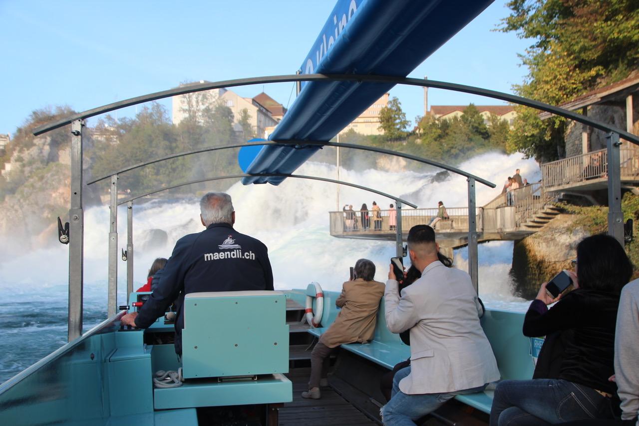 Les chutes du Rhin à Schaffhausen