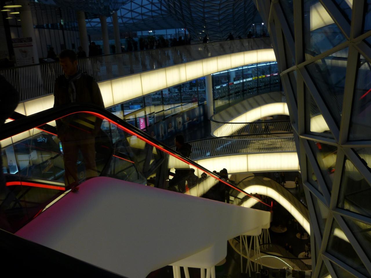 Un des plus longs escaliers mécaniques d'Allemagne