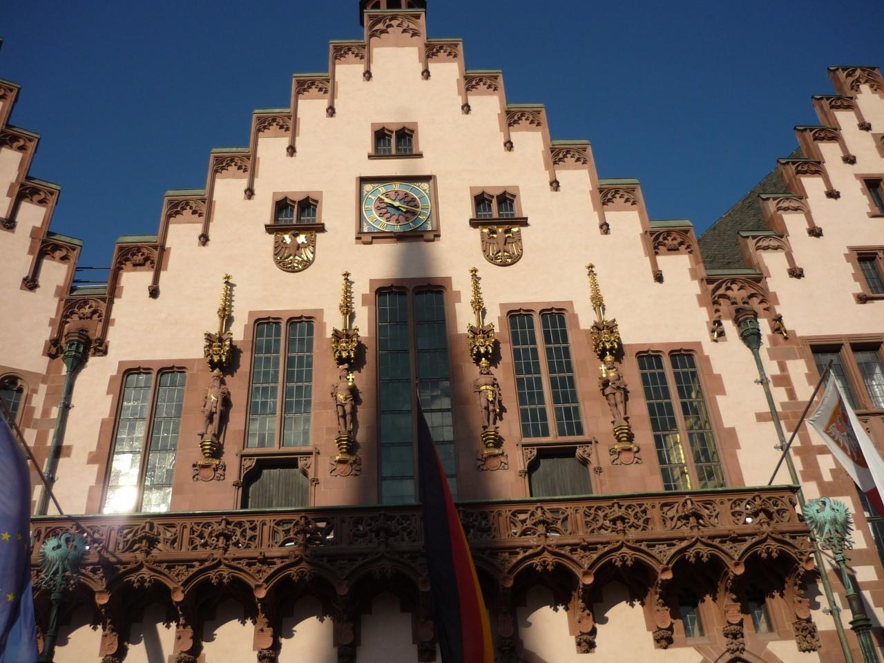 Der Römer l'hotel de ville  Les quatre empereurs