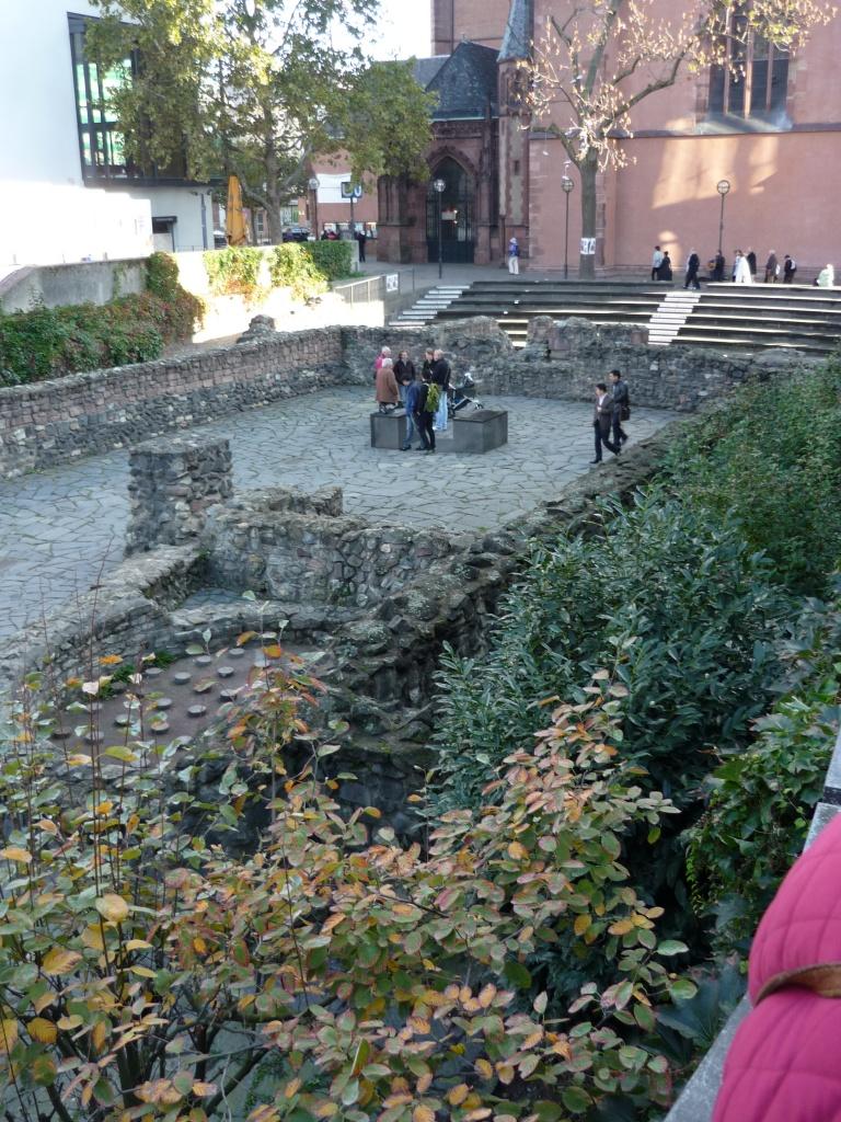 Fondations des thermes romains