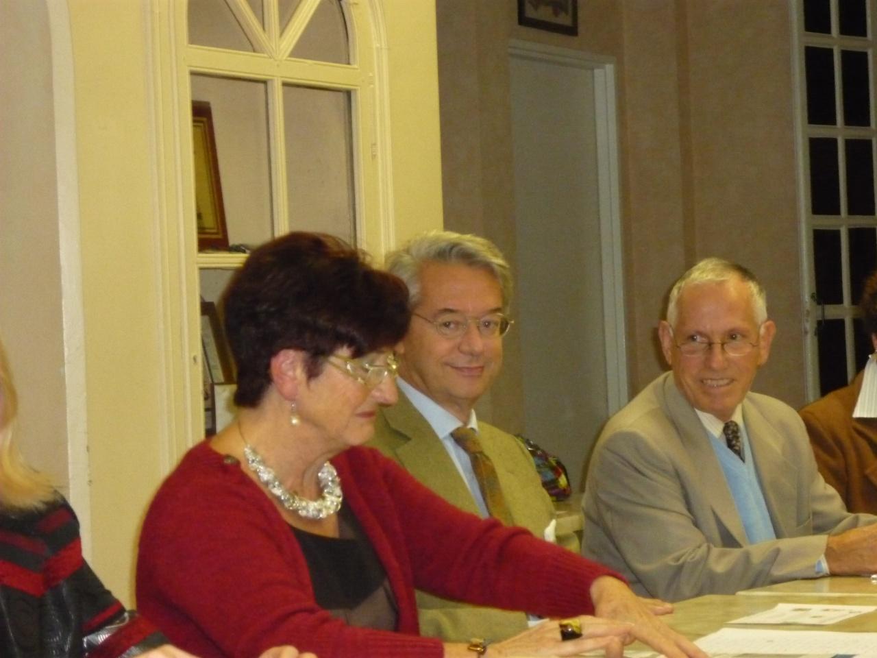 La présidente et le maire valident le programme du cinquantenaire