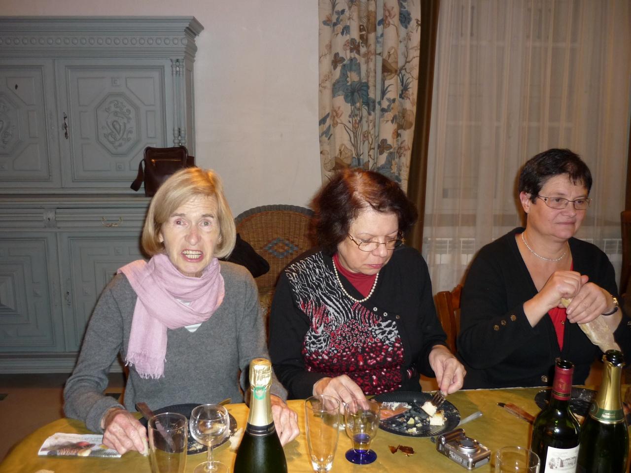 Patricia, Marie Christine et Martine