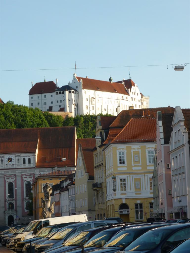 Burg Trausnitz vu de l'hotel