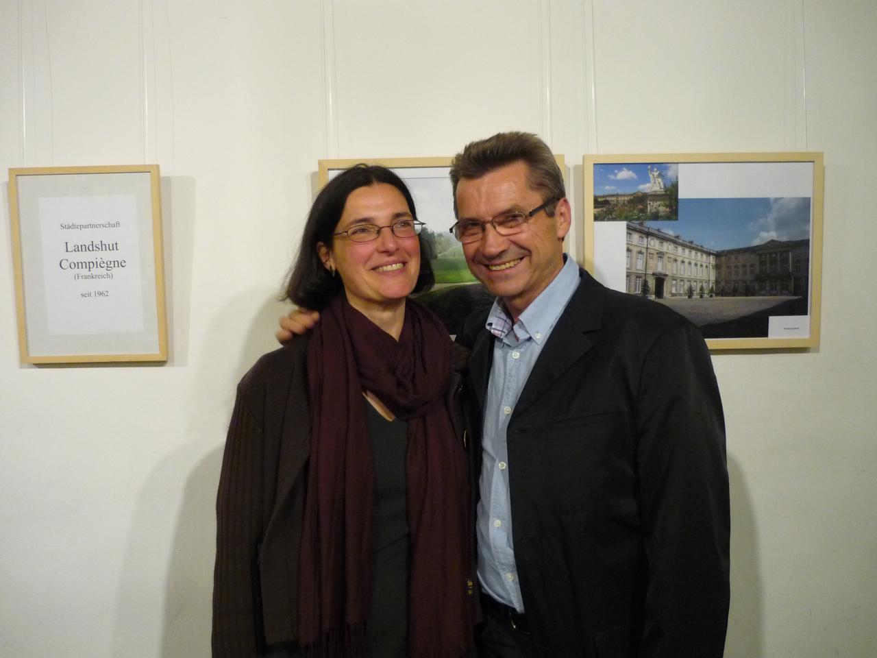 Marie France und Roland aus Landshut