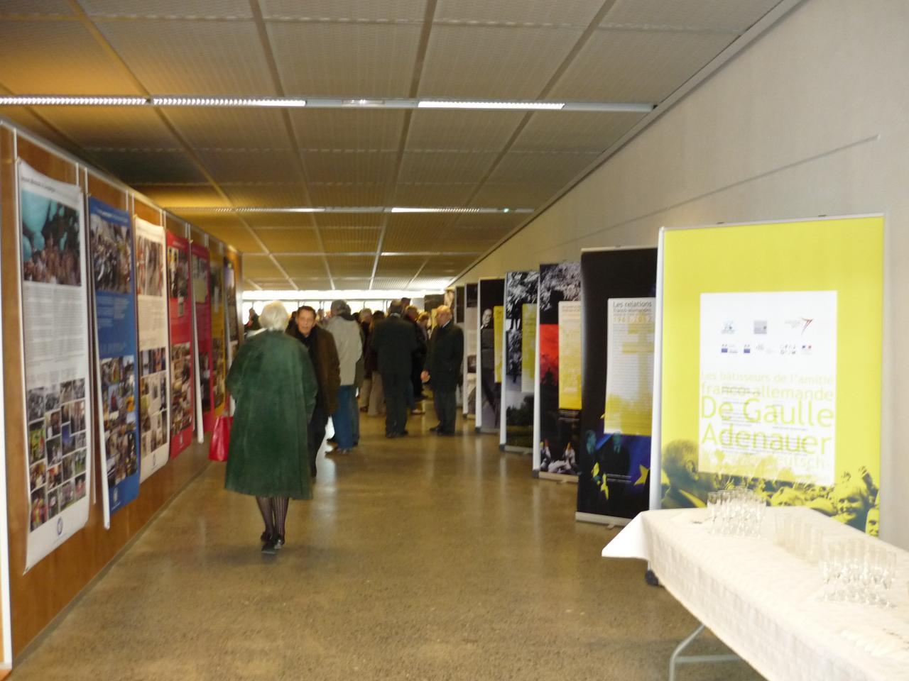 Exposition De Gaulle Adenauer