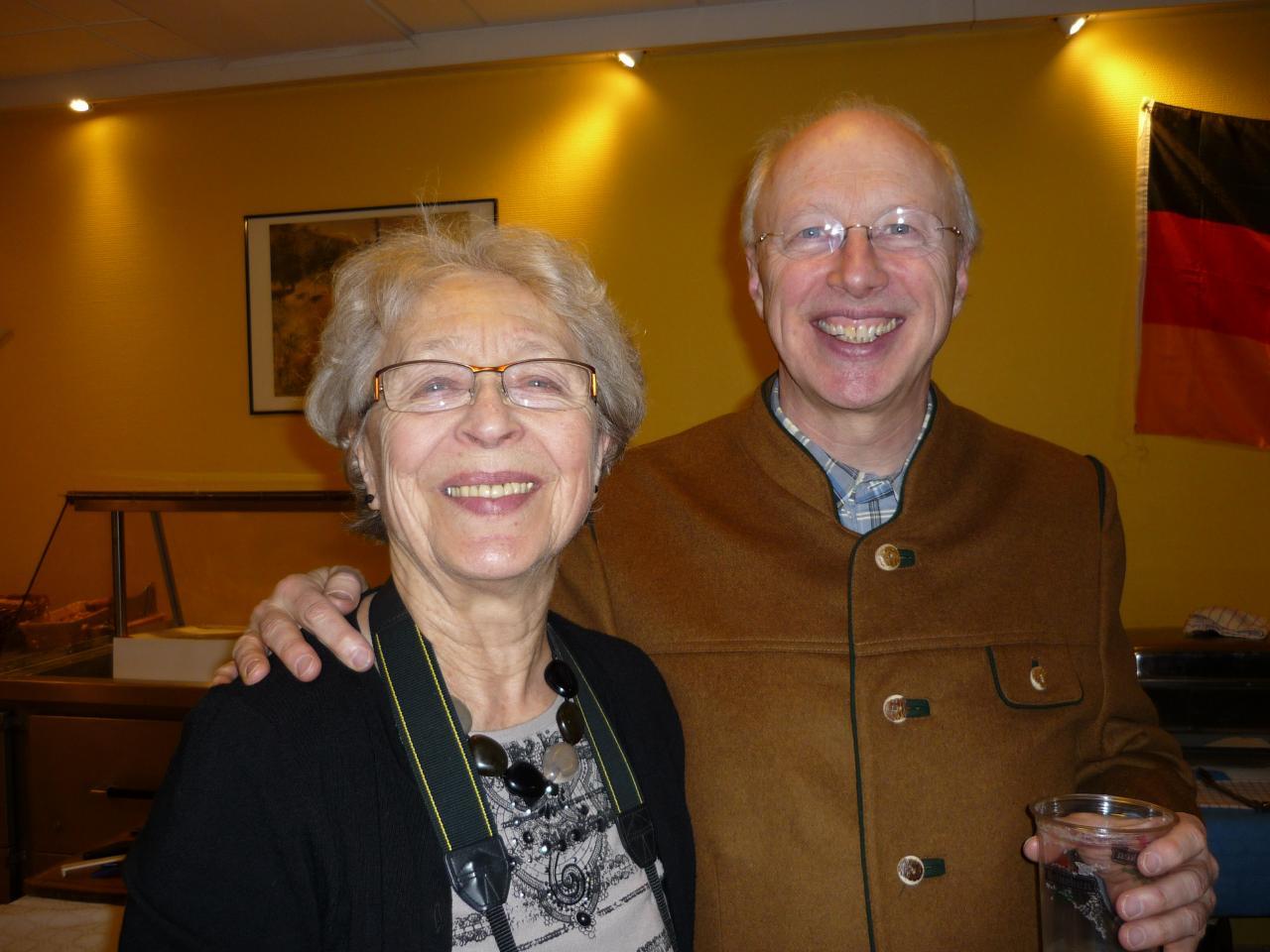 Notre photographe Hanni avec Claude