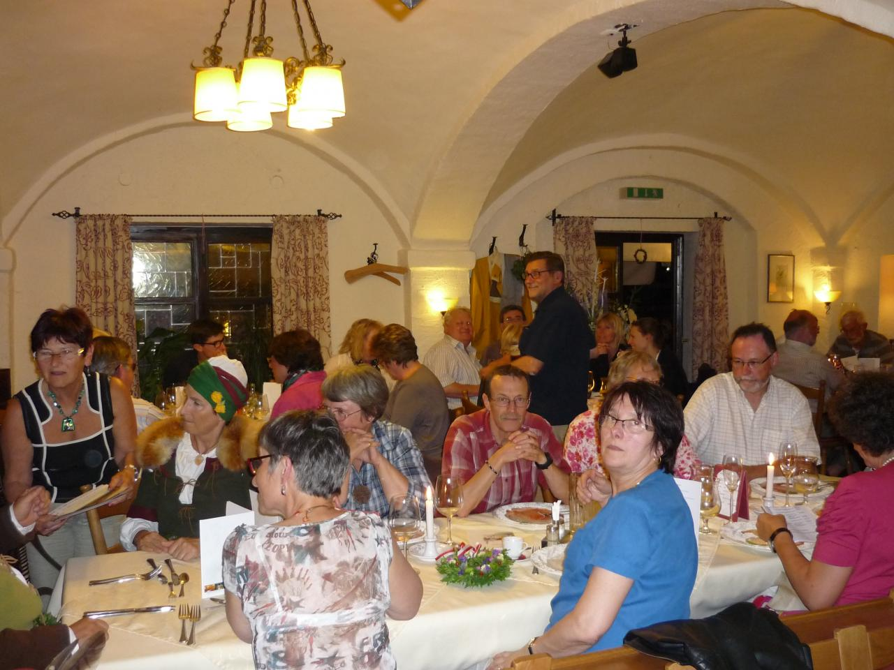 A L'Isar Klause avec les amis de Landshut