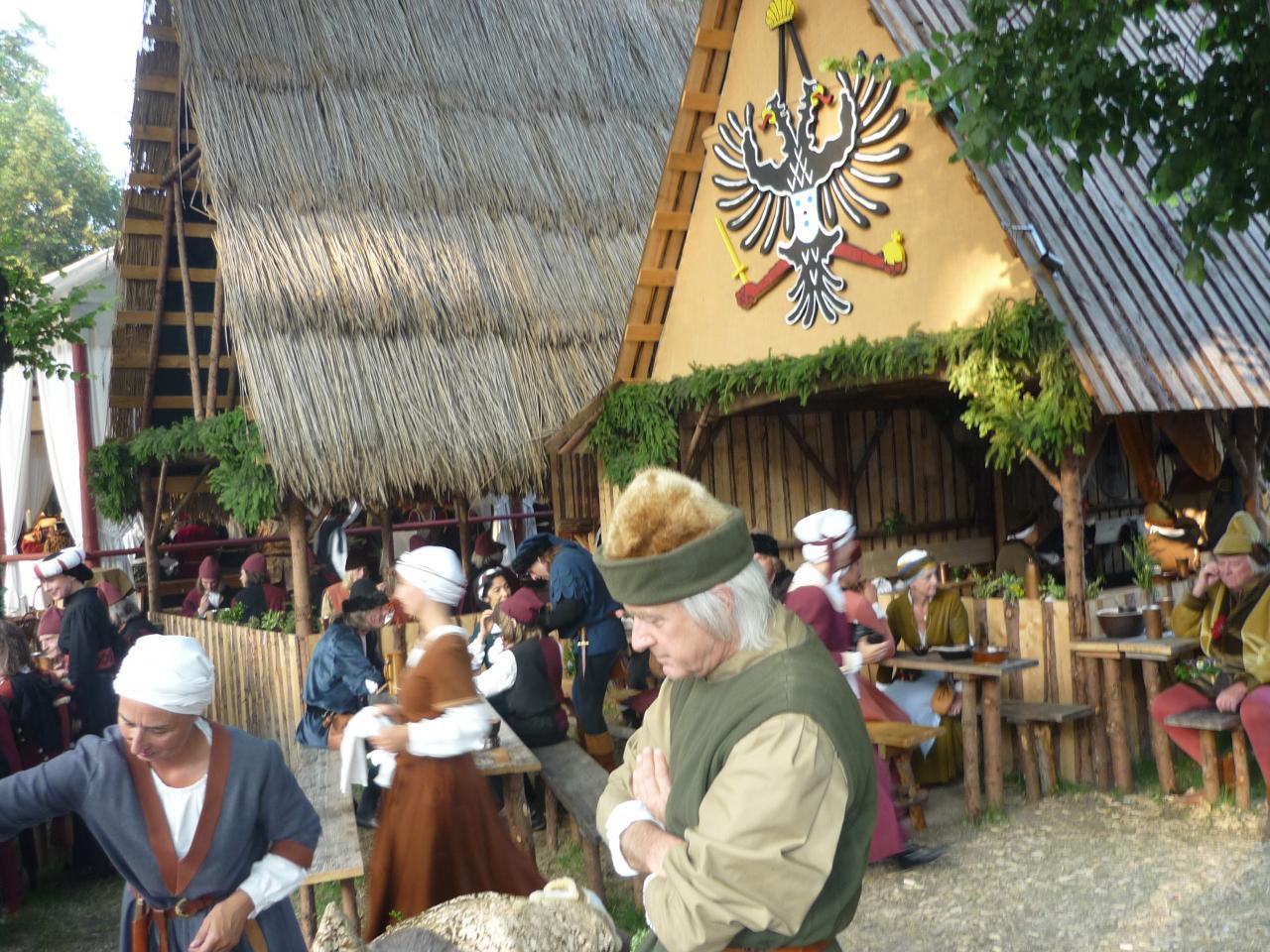 La vie en 1475 pendant les Fêtes du mariage princier à Landshut