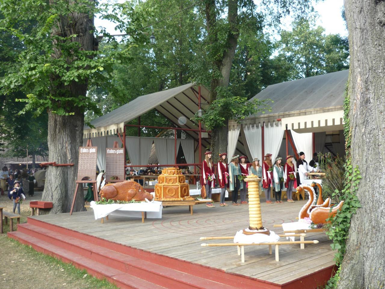 Le campement princier