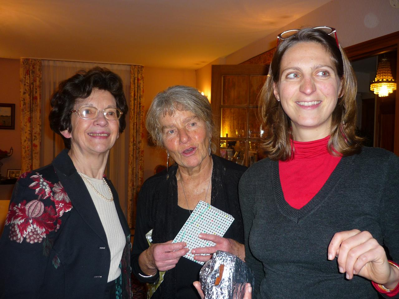Anne, Elke et Catherine