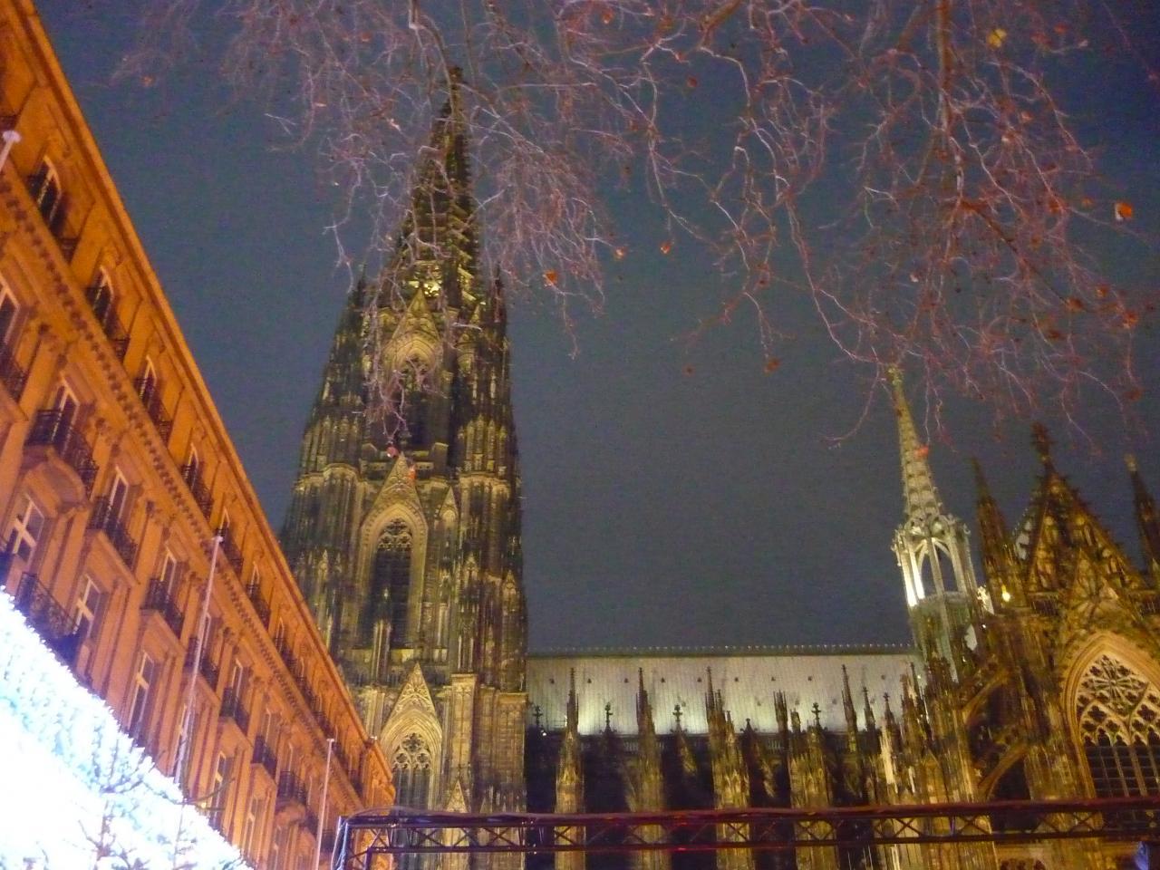 Der Dom in der Nacht