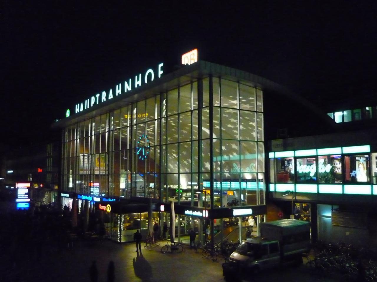 Der Hauptbahnhof