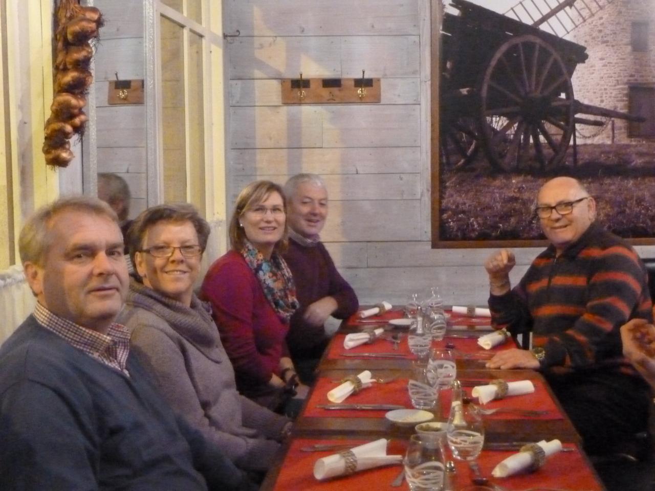 Repas du Vendredi 6 décembre 2013 au Bistrot du Terroirl
