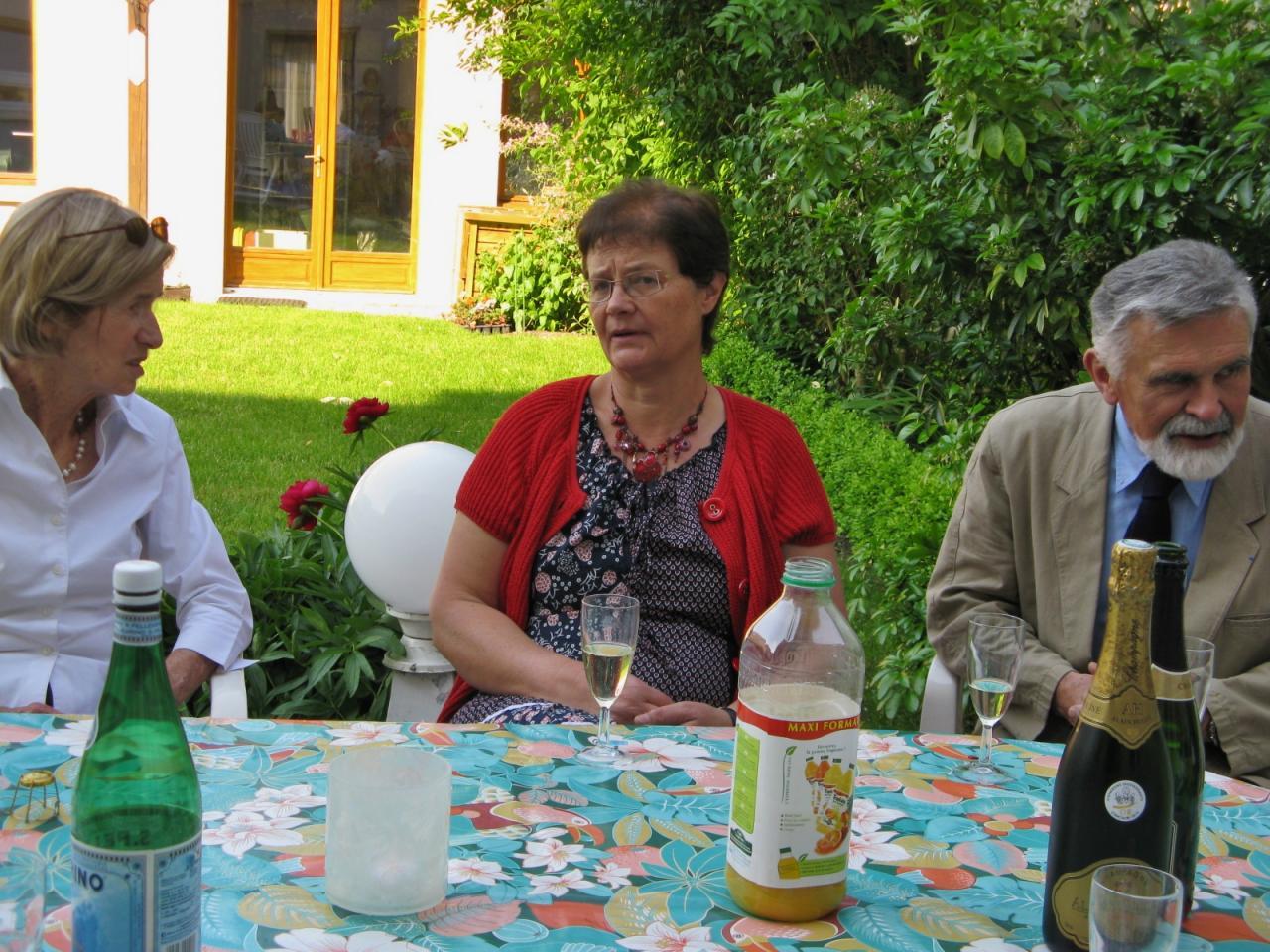 Patricia, Martine et Gérard