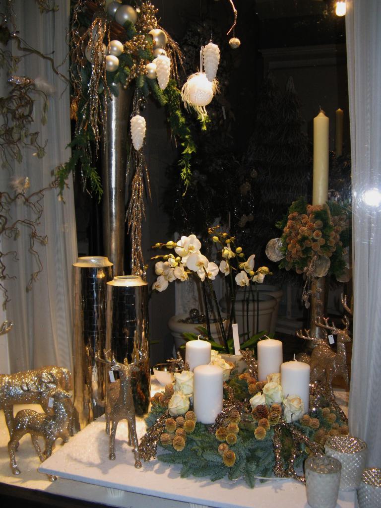 Une boutique de décoration