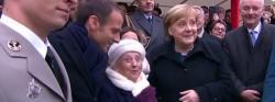 Le maire de Landshhut avec le président et la chancelière