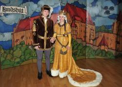 Le prince Georg et la princesse Hedwig