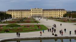 Schönbrunn vu du jardin