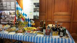 Le buffet préparé par Compiègne-Landshut
