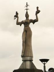 La statue tournante d'Impéria
