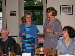 Elisabeth Wittmann et Maryse Karsanté