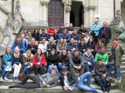 Le groupe de la Berufsschule I à Pierrefonds