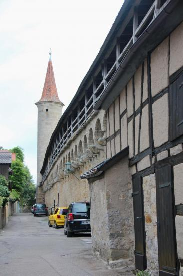 Rothenburg ob der Tauber les fortifications