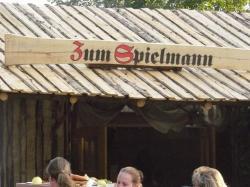 """La tente """"Zum Spielmann"""""""